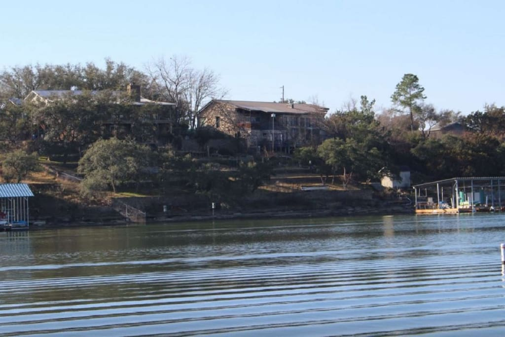 During your stay, you'll have access to a public boat ramp and a covered pavilion!