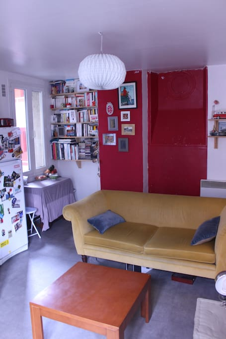 The living room / Le salon / El salon