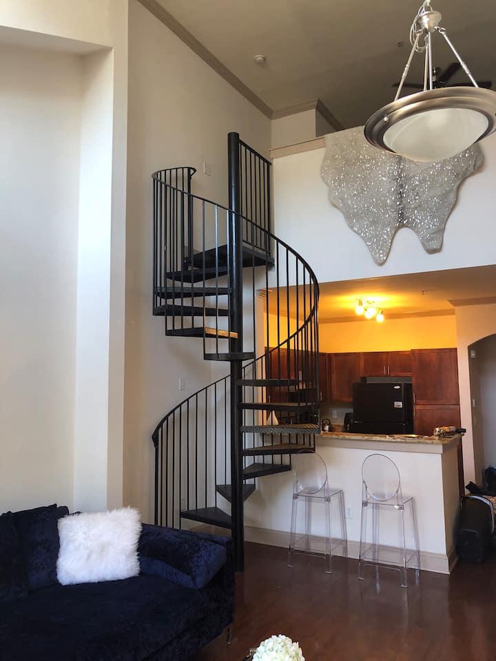 Posh Buckhead 1-bedroom loft