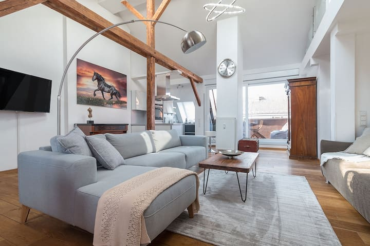 Stylish and cosy Penthouse Apartment - Múnich - Apto. en complejo residencial