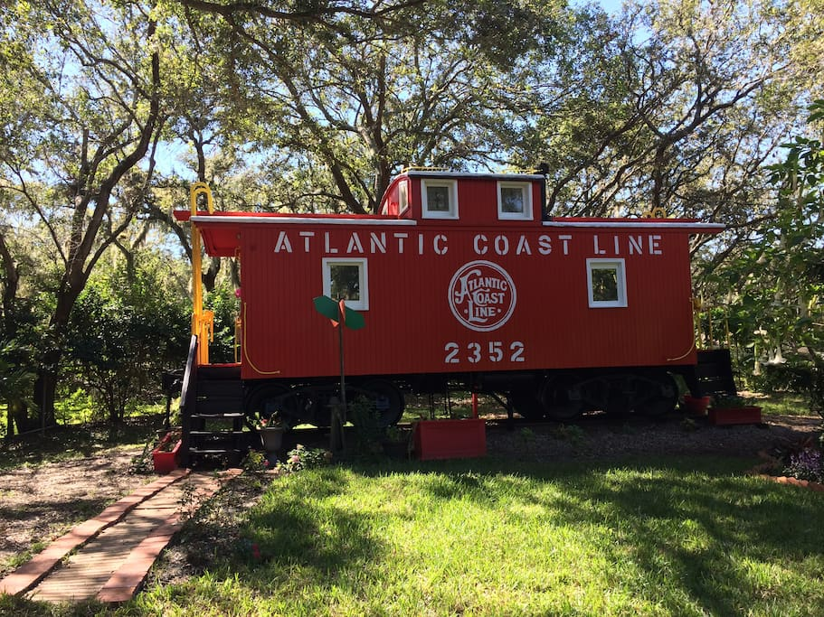 Amazing The Clearwater Caboose Tiny House Trains For