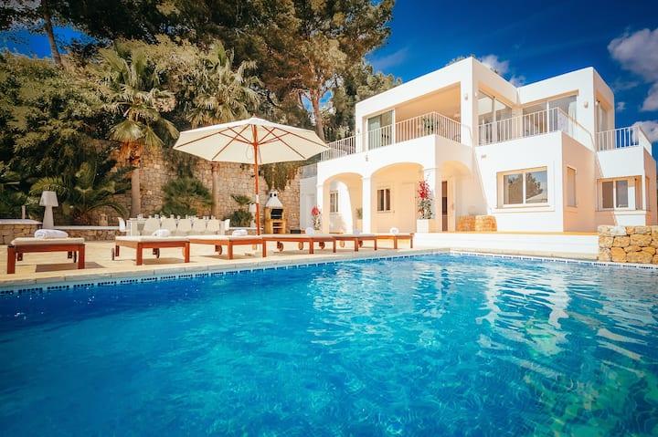 NEU Best Ibiza Sea View Villa Big Pool FullPrivacy