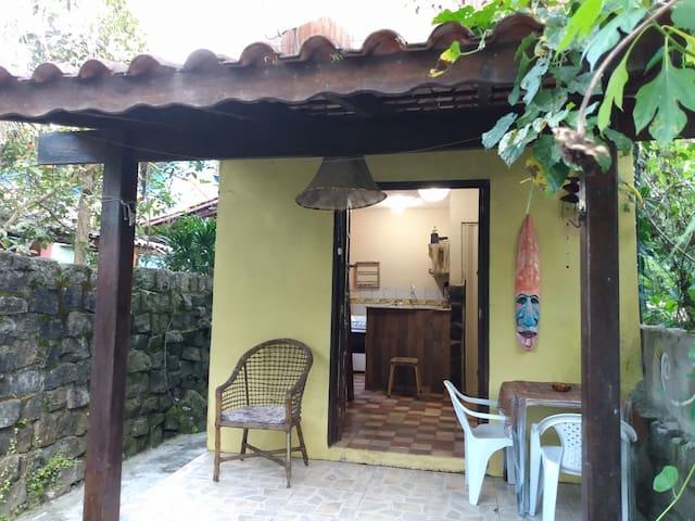 Casa rústica - Praia do Itamambuca