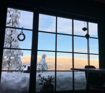 Nybyggd fjälldröm, underbar utsikt, Ski-In/Ski-Out