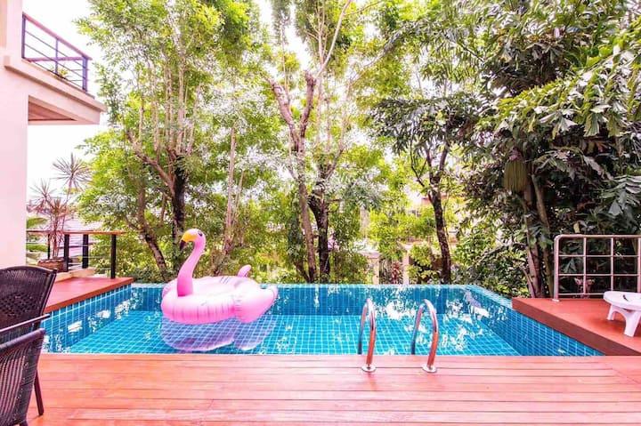 The most favorable! Sea view Pool Villa