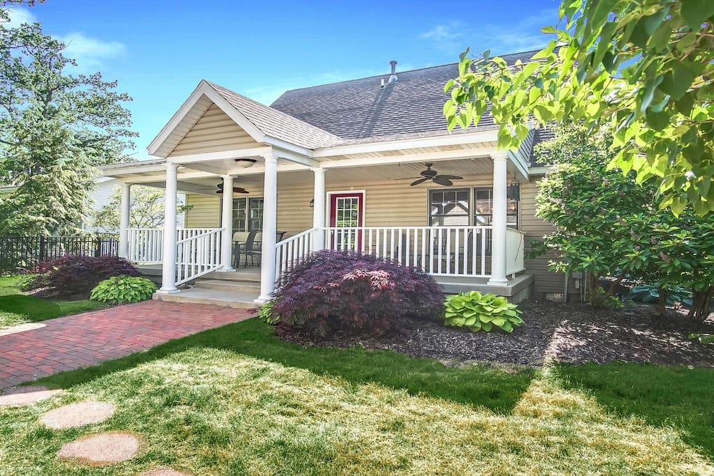 It's a cute home in a nice neighborhood, and it's dog friendly!