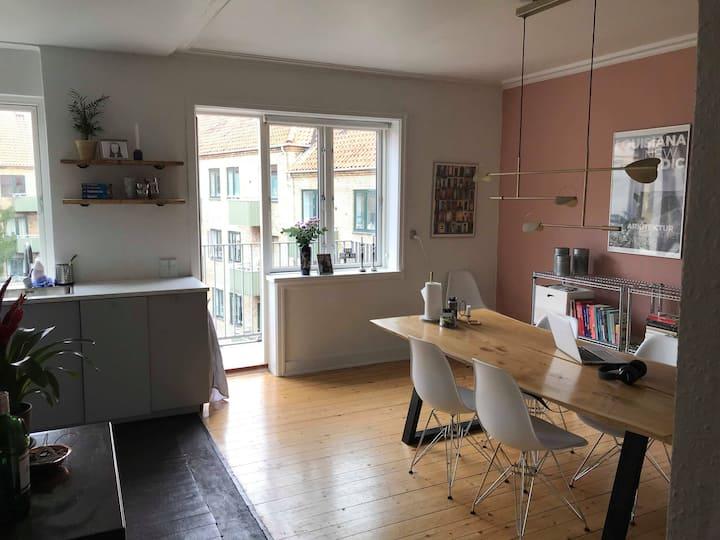 Lækker skandinavisk lejlighed på Nørrebro