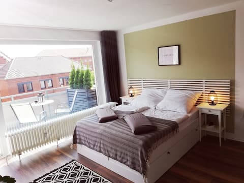 Cozy and calm Appartement in central with balcony