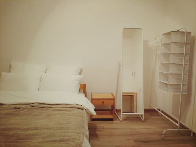 A spacious two-roomed flat apartment