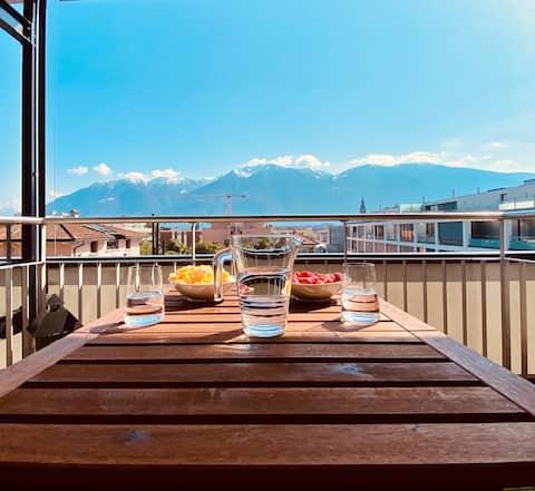 Cosy Apartment with Balcony, Netflix, Nespresso