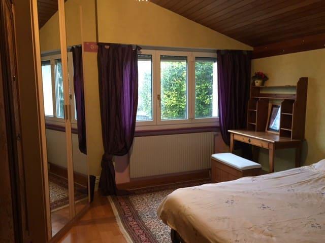 Chambre lumineuse et au calme à 5 min de Morges - Vufflens-le-Château - Domek gościnny