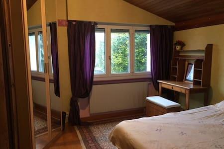 Chambre lumineuse et au calme à 5 min de Morges - Vufflens-le-Château - Ξενώνας
