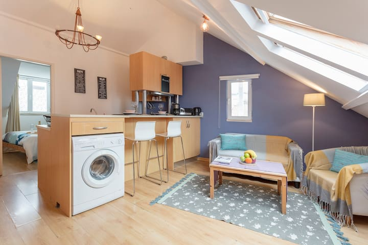 Cosy Loft in the the heart of the city!