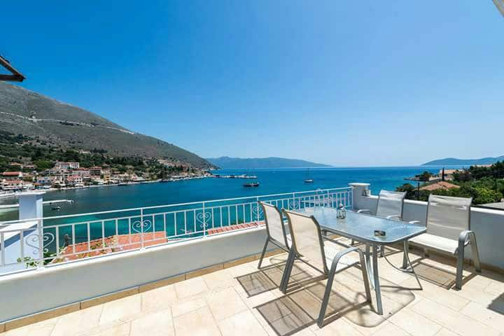 Magic Sea View Apt in Agia Efimia