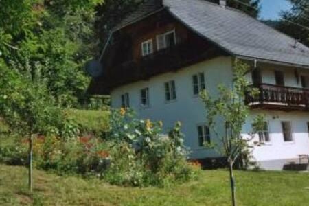 Haus am Rande des Dorfes