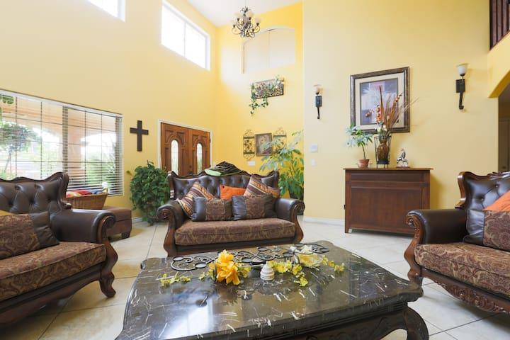Beautiful and Spacious Hacienda Ranch Home