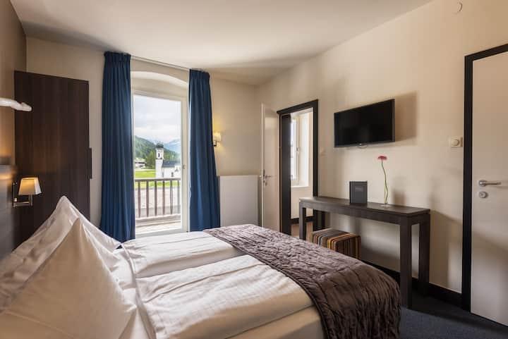 Apartment inside Hotel Wetterstein