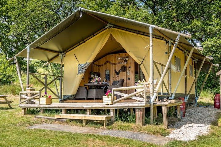 Deerland Safari Tent, secluded & private location