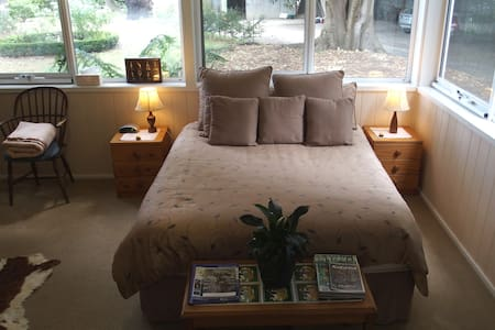Spacious double room in country setting.