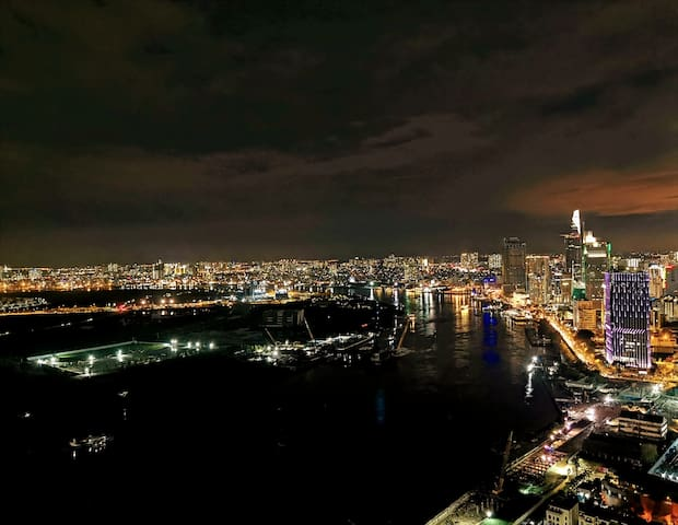 [CBD & RIVER View] Private Room @ 40th Floor & D1