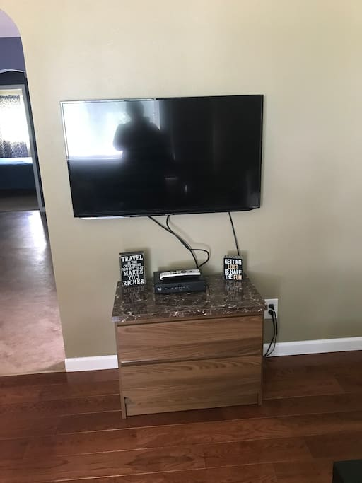 Flat screen TV-living room