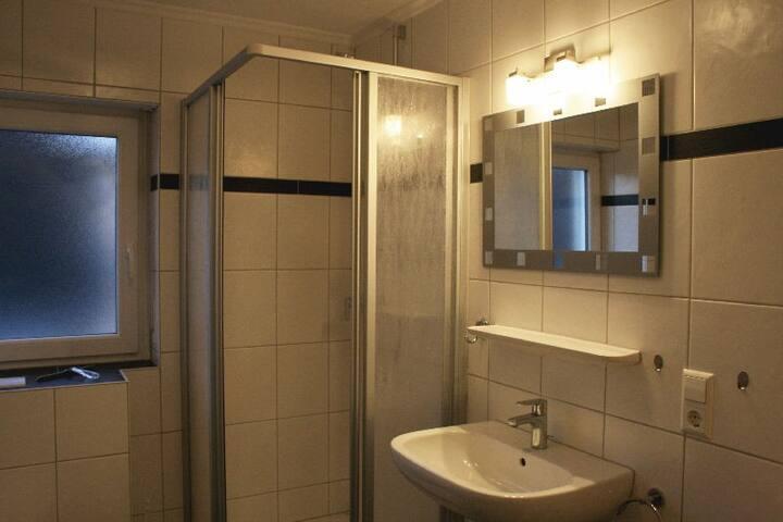 Gasthaus Kreuz (Biberach), Ferienwohnung Geroldseck Blick, 60qm, 2 Schlafzimmer, max. 4 Personen
