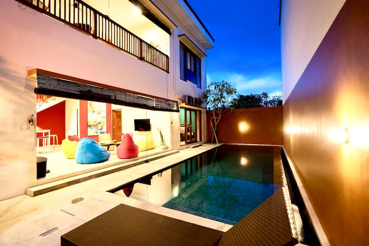 Modern BigTeam 24guest TwinVilla 6RM 2Pool Beach T