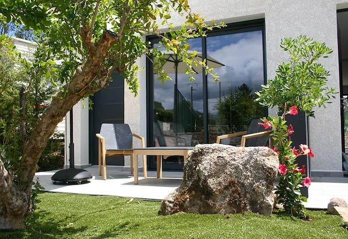 Studio résidence 4* piscine tennis à 600m plage - Zonza - Flat