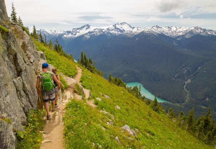 High Note trail on Whistler mountain