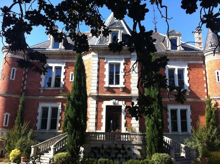 Château De Beauregard, Castets, Landes.
