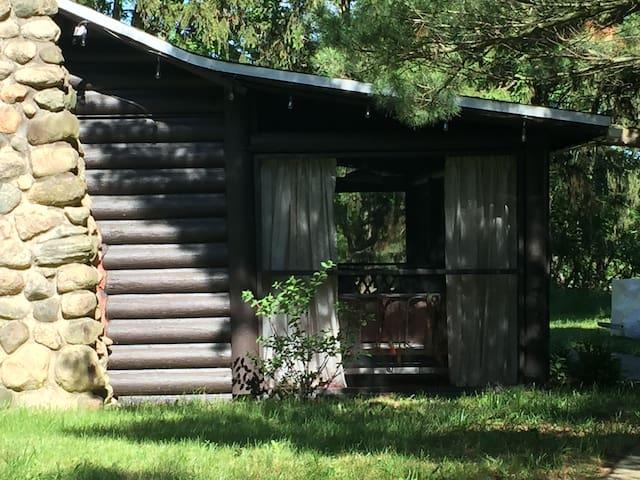 Serene Log Cabin. (It's magical)