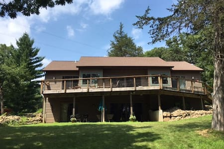 Modern House on Lake Wisconsin - Merrimac