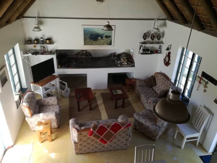 Fisherman's cottage in Struisbaai