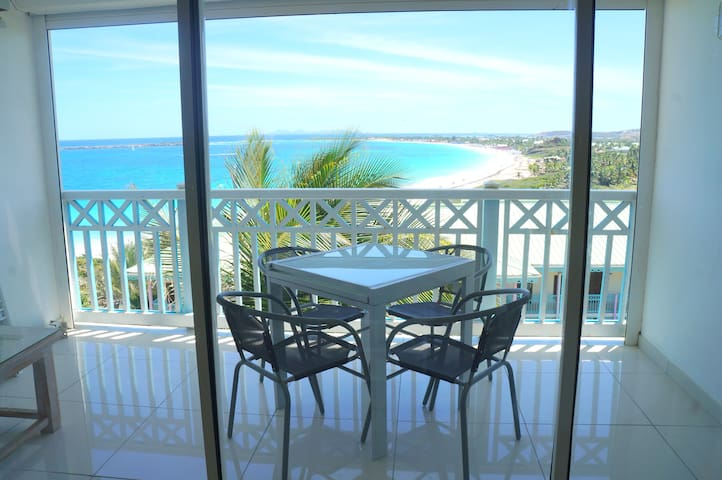 Amazing ocean view, large studio on Orient Bay 2 - Collectivity of Saint Martin - Apartment