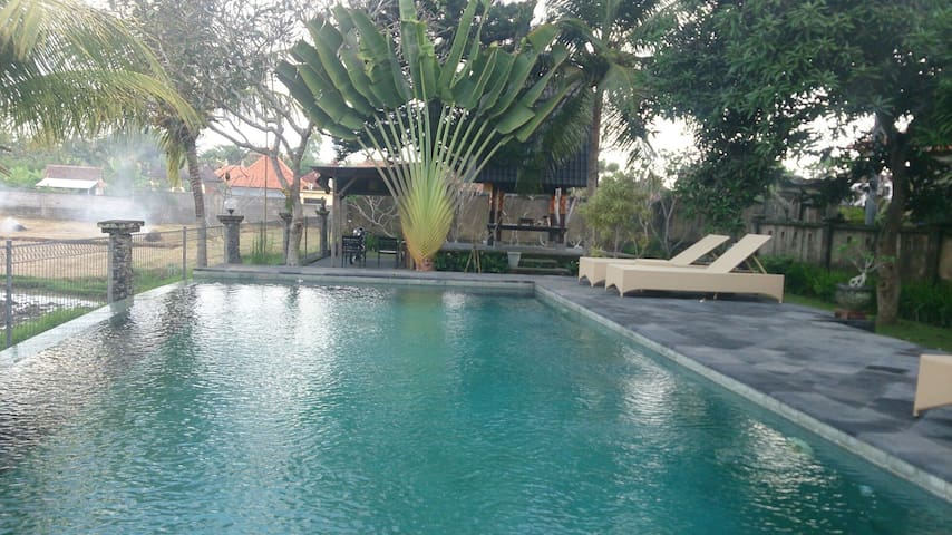 NEW! 2Brm, Wifi, Breakfast Incl. Free Ubud Shuttle - Sukawati - Byt