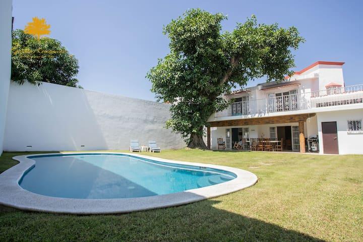 Gaviotas Residences-Casa Ines-Alberca-Centrica