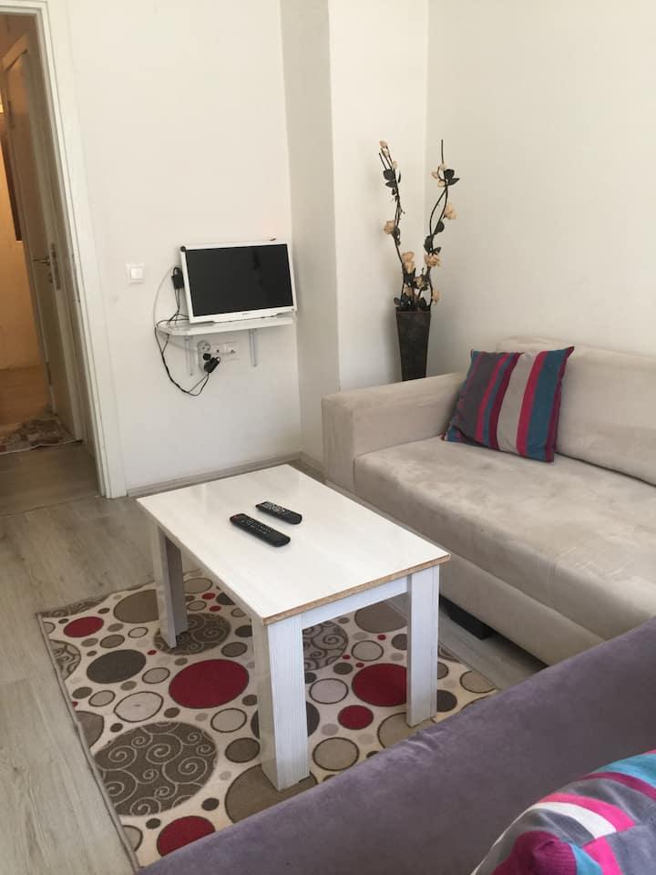 Eskişehir merkeze ve üniversiteye yakın 1+1 daire