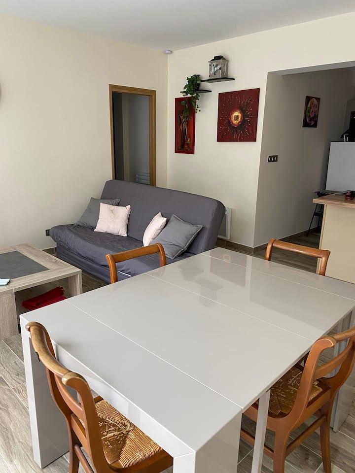 BUGEY, Bel appartement au cœur de Crémieu