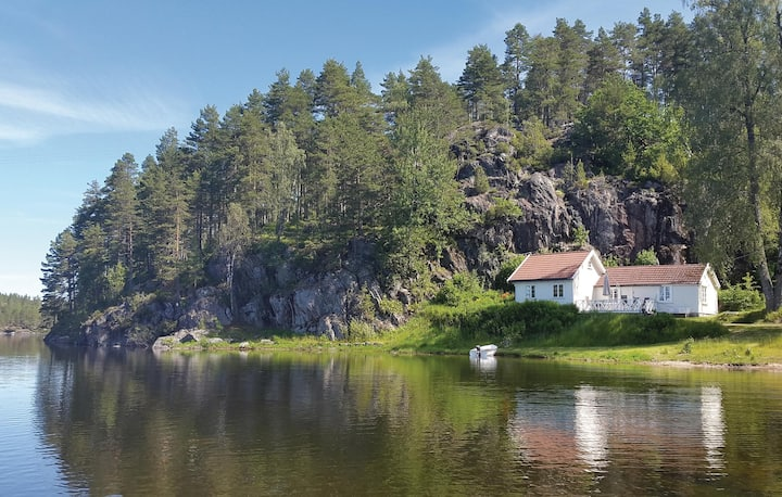 Awesome home in Hornnes with WiFi and 2 Bedrooms