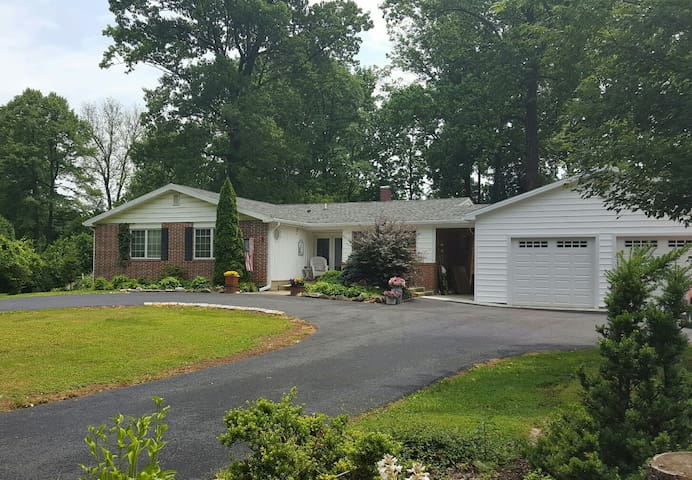 Private room in Timonium near I-83 - Lutherville-Timonium - Casa