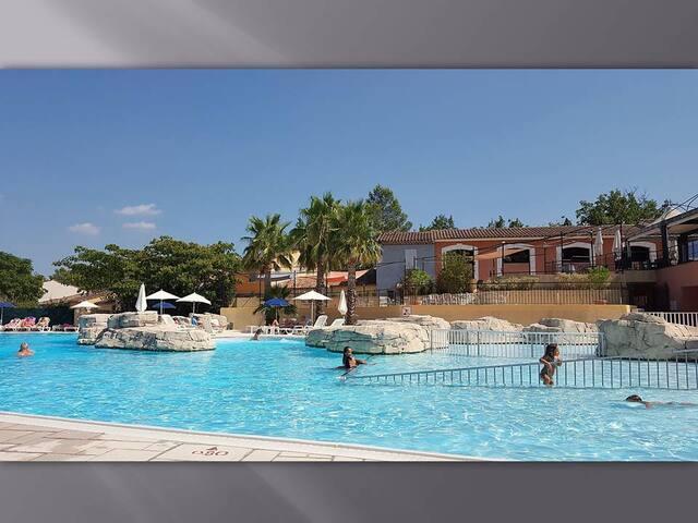 Maison 6 pers FAYENCE résidence 4* piscine & spas - Fayence - Dom