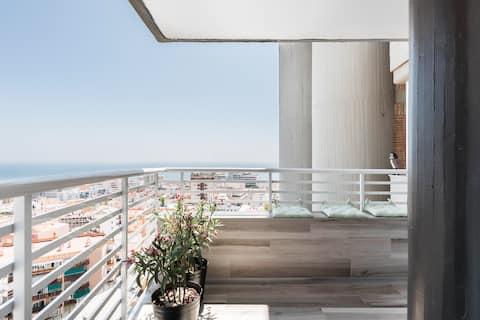 Special Sky Suite- Sea & Mountains Views-Torremolinos Center