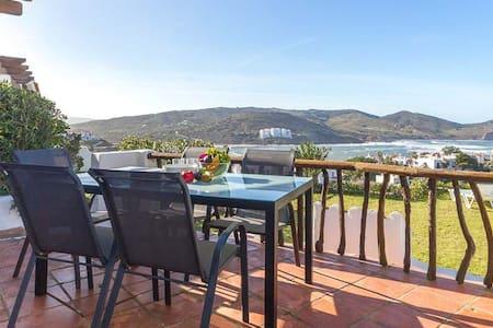Apartamento con vistas al Mar y Jardín. - Platges de Fornells