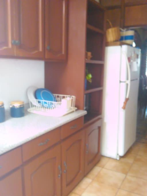 Kitchen to prepare
