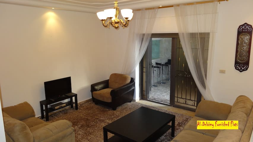 #1A Furnished flat for rent! - Amman - Byt