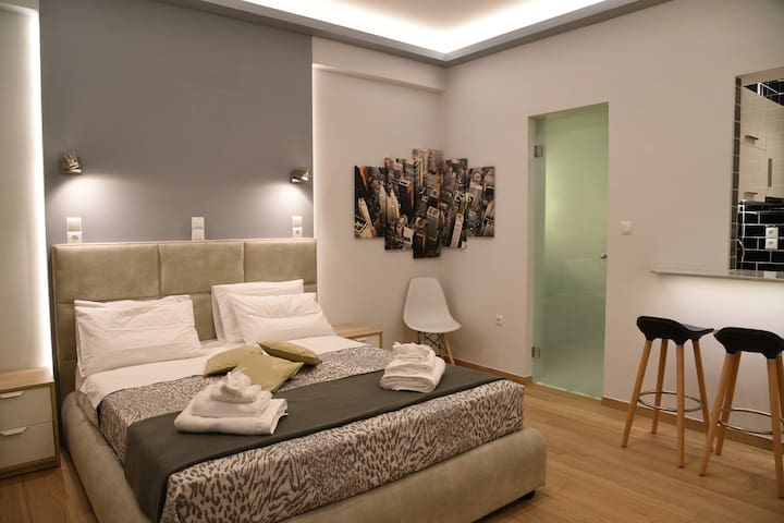 Nikis luxurious Studio at Syntagma Square