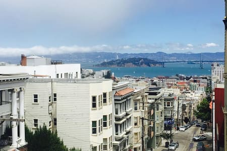 An amazing room for you in NobHill for you. - San Francisco