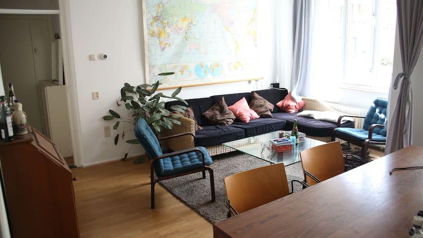Cosy room with garden access