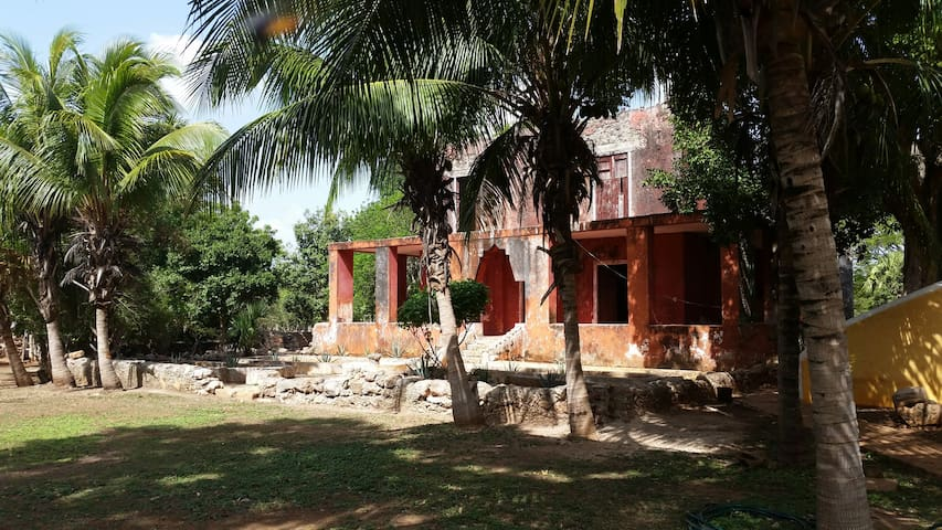 Beautiful Hacienda Esperanza & ancient Maya ruins - Maxcanú - Villa