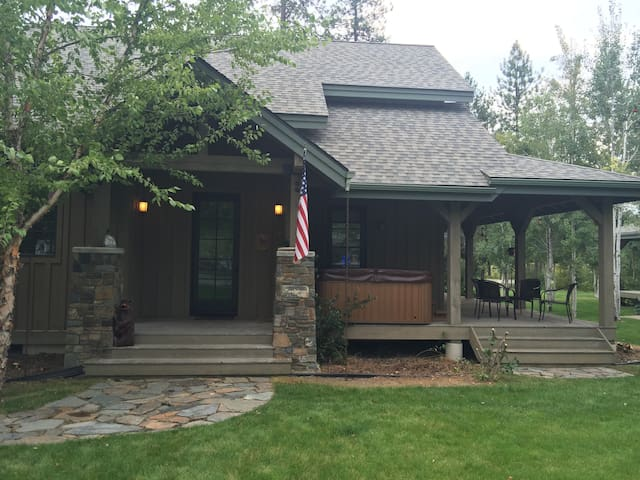 Cozy 4 Bed/3 Bath Modern Cabin Next To Lake - Sandpoint - Casa